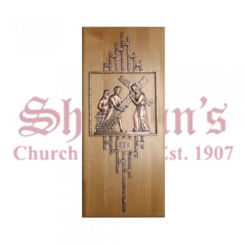 Stations of the Cross in Solid Bronze
