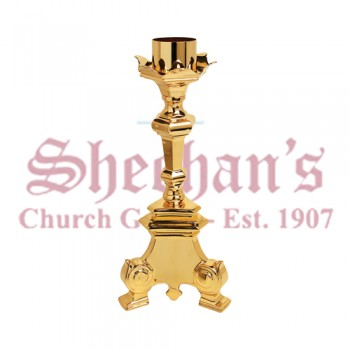 Gold Plated Paschal Candle Holder