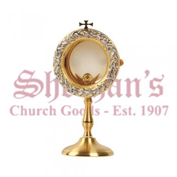 Gold and Silver Plated Chapel Monstrance