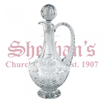 Church Crystal Flagon with Handle