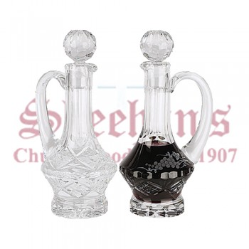 Crystal Cruets Set