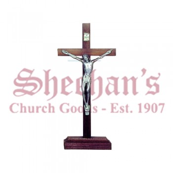 Classic Standing Crucifixes with Pewter Corpus