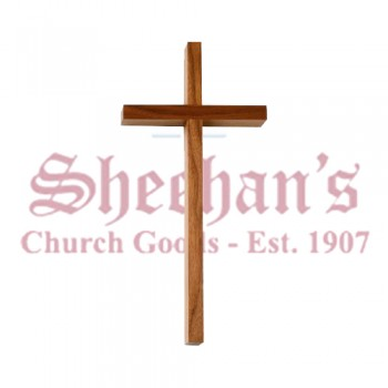 Plain Wood Block Cross
