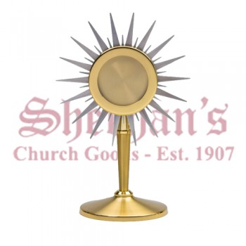 Chapel Size Ostensorium with Silver Plated Rays