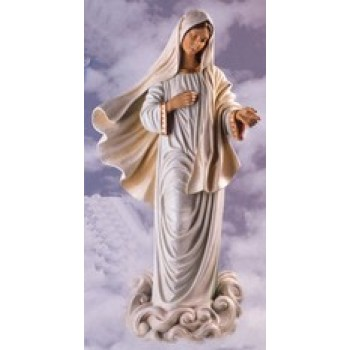 Our Lady of Medjugorje Indoor and Outdoor Statue