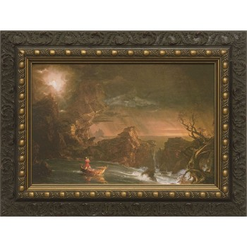 The Voyage of Life: Manhood Framed Art