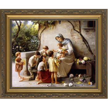 Adoration by Guiseppe Magni Framed Art