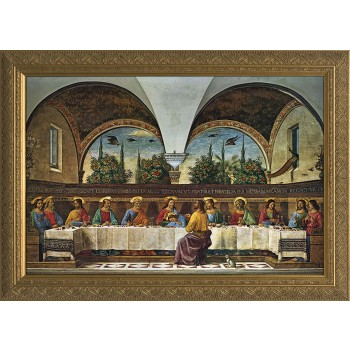 Last Supper by Ghirlandaio Framed Art