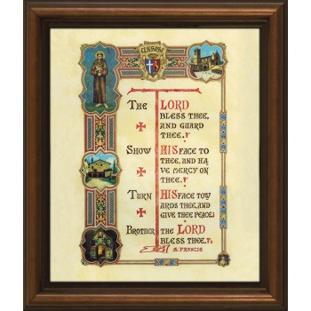 St. Francis Prayer Framed Art