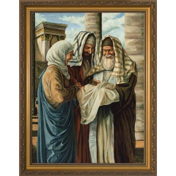 Presentation in the Temple by Jason Jenicke - Standard Gold Framed Art