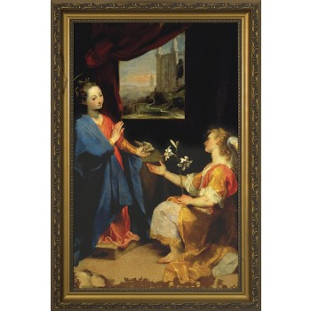 Annunciation by Barocci Framed Art