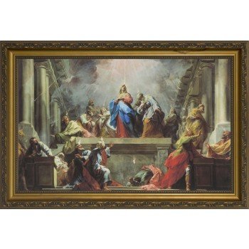 Pentecost by Jean Restout Framed Art