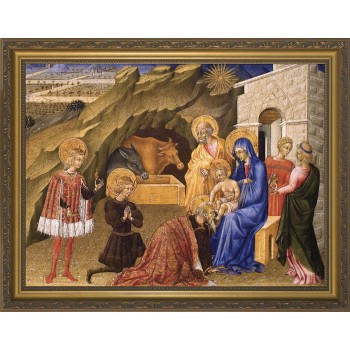 Adoration of the Three Magi Framed Art