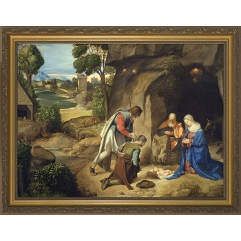 Adoration of the Shepherds Framed Art
