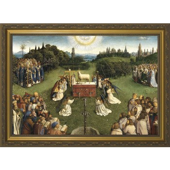 Altar of the Lamb Full Framed Canvas