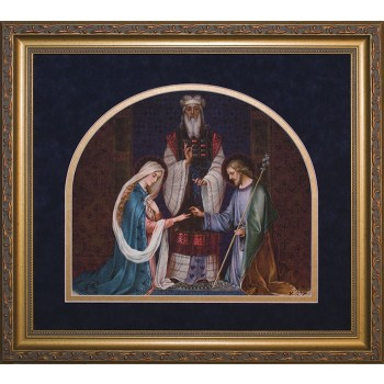 Wedding of Joseph and Mary Framed Image