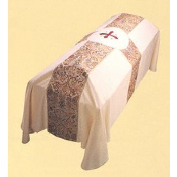 Tapestry Banded Funeral Pall