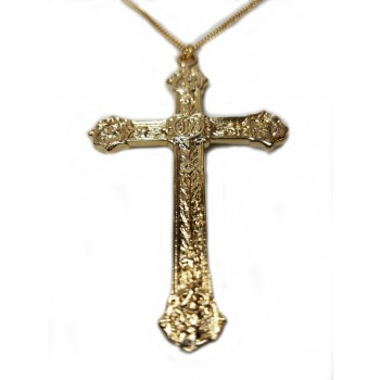Pectoral Cross with Four Gospel Symbols