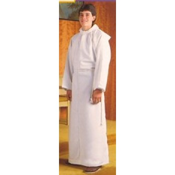 Abbey Brand Altar Server Polyester Blend Alb