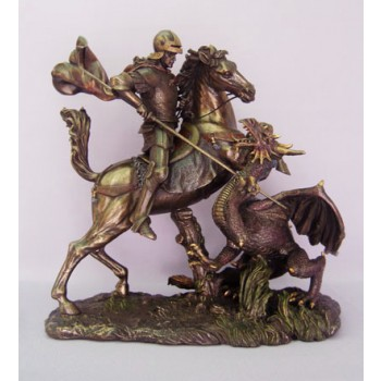 George Bronze Resin Statue