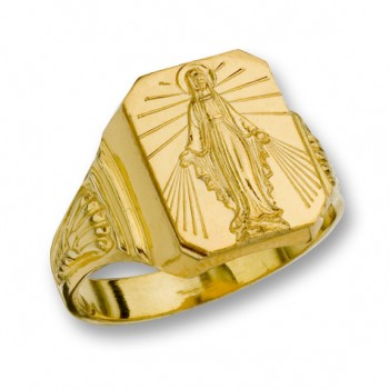 14 Kt. Gold Miraculous Ring