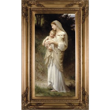 L'Innocence Canvas - Gold Museum Framed Art