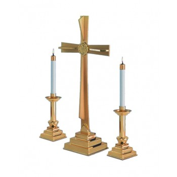 3-Deity Cross Altar Set