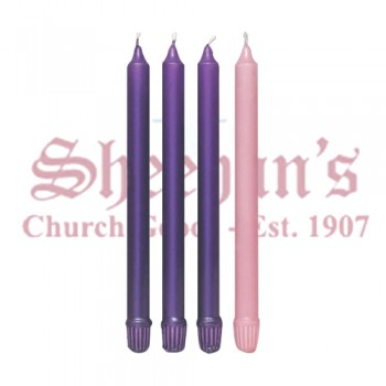 Advent Wax Candles