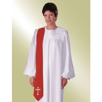 Ladies White Evangelist Robe
