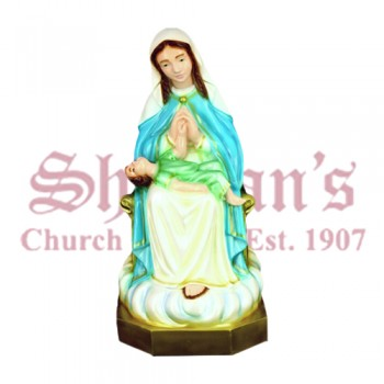 "Divine Providence 24"" Outdoor Statue"