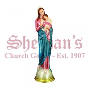 """Madonna with Child 24"""" Outdoor Statue"""