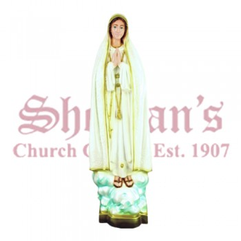 "Our Lady of Fatima 32"" Outdoor Statue"