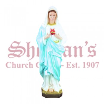 Immaculate Heart of Mary 36 Outdoor Statue
