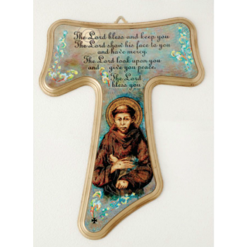 Franciscan Tau Wall Cross