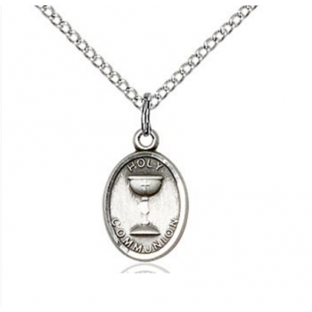 Sterling Silver First Communion Pendant