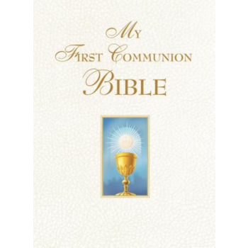 My First Communion Bible in White