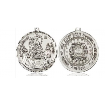Our Lady of Pompei - Queen of the Holy Rosary Medal