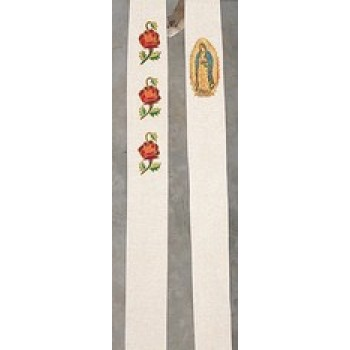 Guadalupe Hand Embroidered Stole