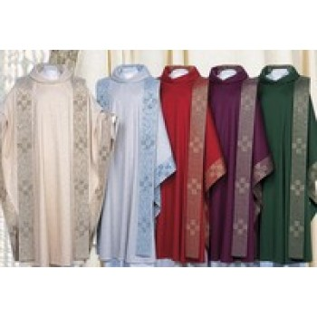 Arte Grosse Utrecht Chasuble and Overlay Stole