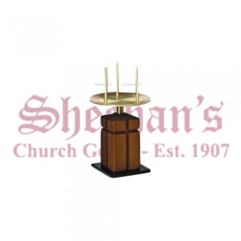 Altar Candlestick in Satin Bronze Finish