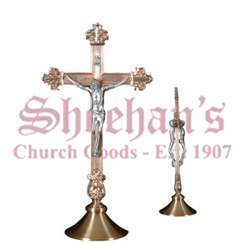 Double Sided Altar Crucifix